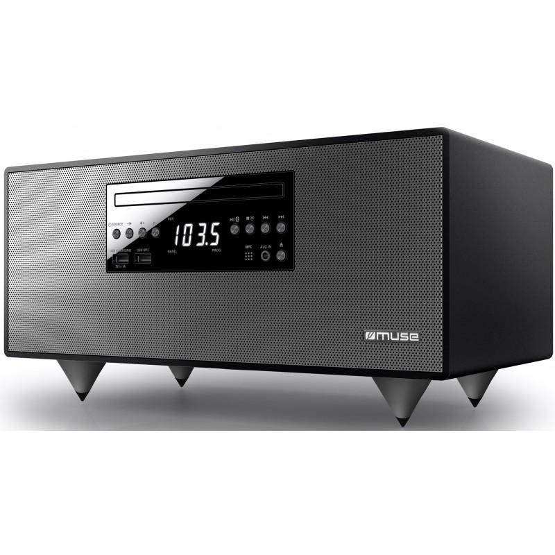 Muse Enceinte Bluetooth Avec Radio FM CD Et Port USB Jdn Gift - Enceinte port usb